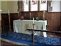 NY5057 : The Parish Church of St Mary Magdalene, Hayton, Altar by Alexander P Kapp