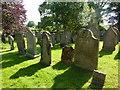 NY5057 : The Parish Church of St Mary Magdalene, Hayton, Graveyard by Alexander P Kapp