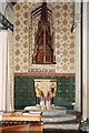 SO7919 : Holy Innocents, Highnam - Font & font cover by John Salmon