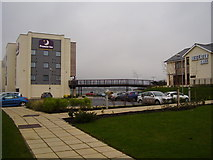 SX8672 : Premier Inn and Beefeater. Newton Road by Anthony Vosper