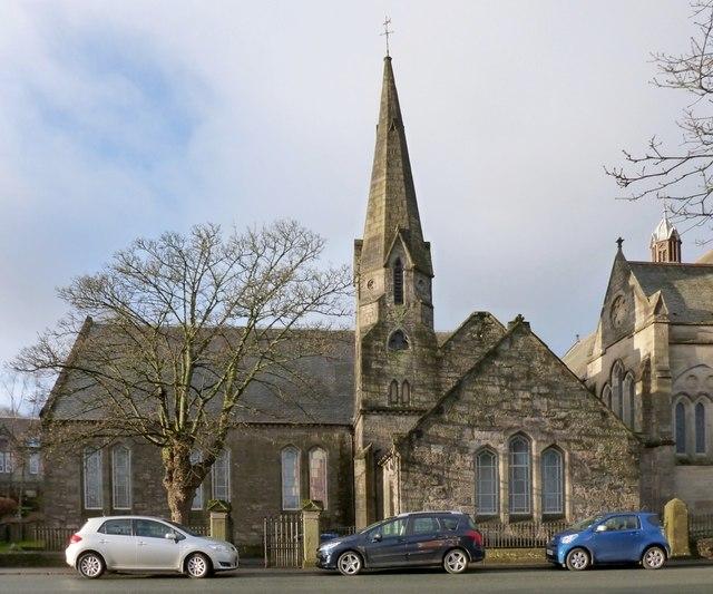 Dumbarton West Kirk: church halls
