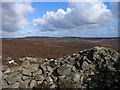 NU0404 : Cairn of some antiquity on Cartington Hill by Trevor Littlewood