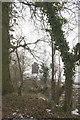 SU4792 : Parish boundary stone, Steventon Road by Roger Templeman