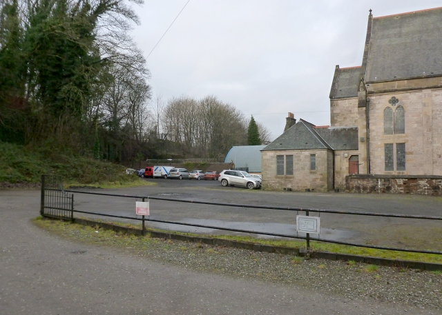 Dumbarton West Kirk: former burial ground