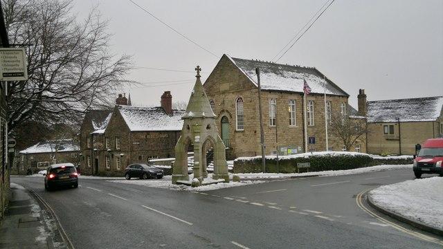 Market Cross, Dronfield
