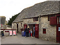 SY9682 : Ticket office at the entrance to Corfe Castle by Phil Champion
