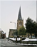 SK3871 : Church of St Mary and All Saints, Chesterfield by Chris Morgan