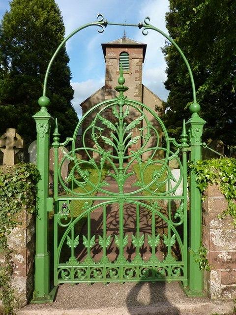 St Peter's Church, Castle Carrock, Gate