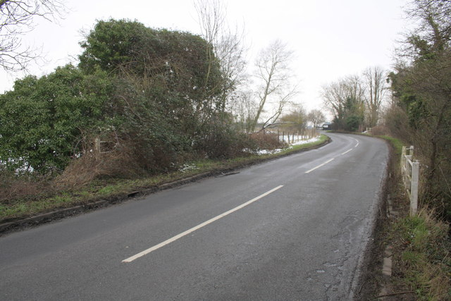 Milton Road south of Brook Farm