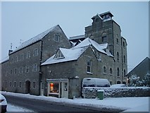 ST8893 : Tetbury Brewery in the snow by Paul Best