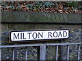 TL1314 : Milton Road sign by Adrian Cable