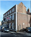 ST2936 : Sold sign on the Bridgwater Arms, Bridgwater by Jaggery