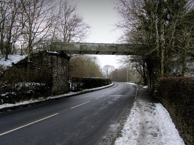Disused Bridge over Chatburn Road