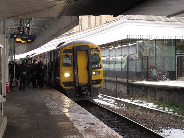 Train to Leeds