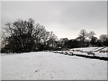SE0823 : Manor Heath park in the snow by Stephen Craven