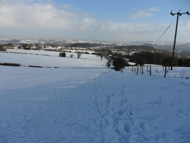 Footpath, Castle Hill