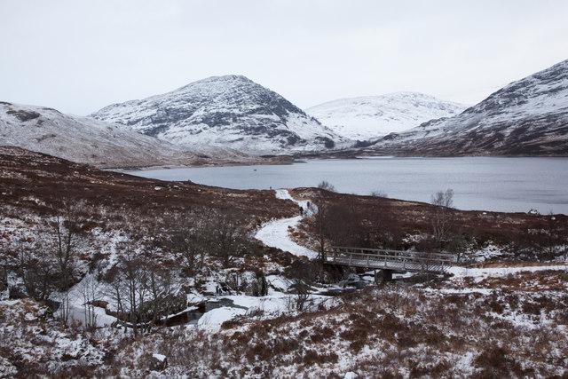 Track Beside Loch Treig