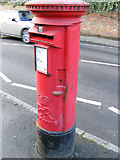 TL1314 : Sun Lane Postbox by Adrian Cable