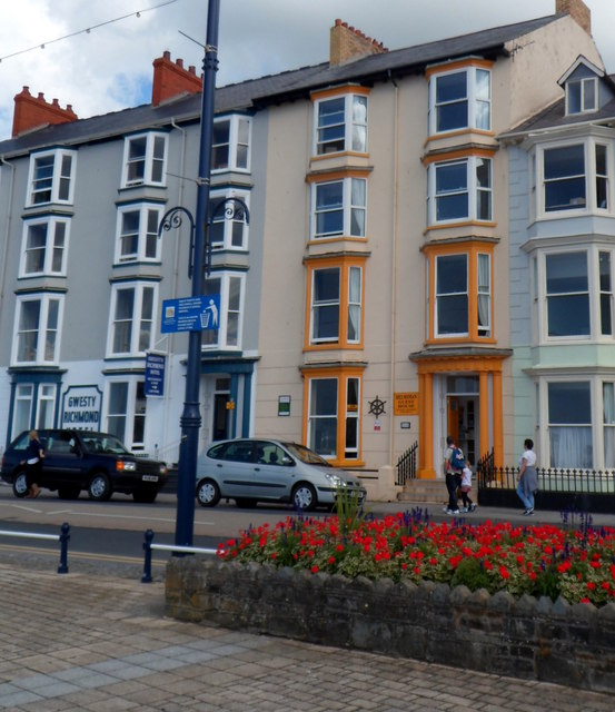 Guest house and hotel, Aberystwyth