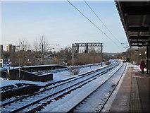 SP0278 : Northfield Station, Snowy Morning by Roy Hughes