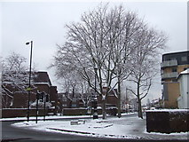 TQ3377 : Southampton Way, SE5 in the snow by Malc McDonald