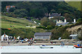 SY8279 : The Old Boat House and other buildings at Lulworth Cove by Phil Champion