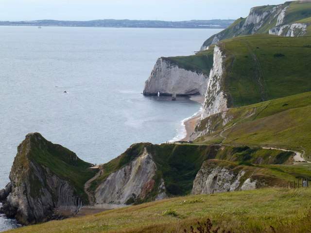 View towards Durdle Cove