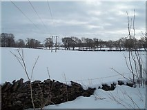 SK1862 : Snow Scene near Thorntree Farm by Jonathan Clitheroe