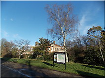 TQ3473 : View of a house in Dulwich Park by Robert Lamb