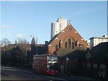 TQ3287 : Church of St Olave, Hackney by David Anstiss
