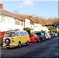 ST3089 : VW Camper van, Crindau, Newport by Jaggery