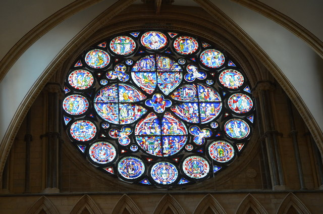 Dean S Eye Window Lincoln Cathedral 169 Julian P Guffogg