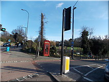 TQ3473 : A K6 telephone box looking rather sorry for itself at the corner of London Road and Sydenham Hill by Robert Lamb