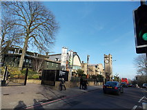 TQ3473 : View of the Horniman Museum from London Road #2 by Robert Lamb