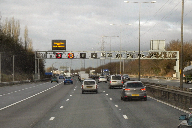 Active Traffic Management on the Northbound M6