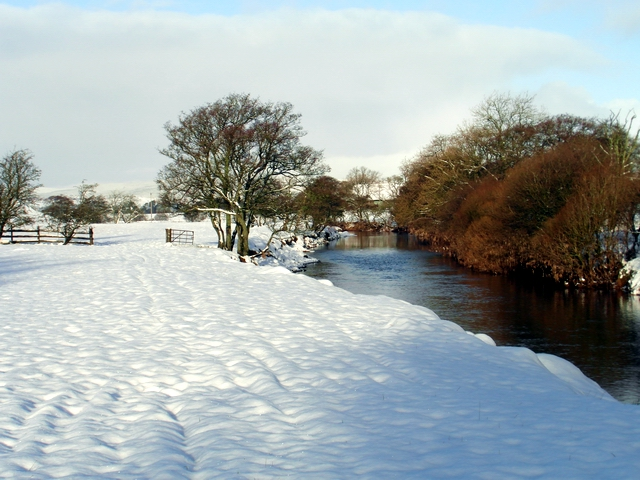 Snow and the Kinnel Water