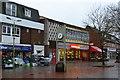 SU6105 : Wet and windy pedestrian precinct at Portchester by David Martin