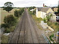 SJ4806 : Condover railway station (site) by Nigel Thompson