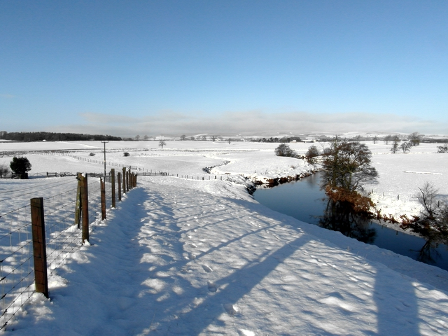 The Kinnel Water, in winter