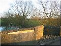 SP6406 : Refuge and damage on Ickford Bridge -- 2008 by John S Turner