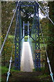 NY3972 : Footbridge at Netherby by David Liddle
