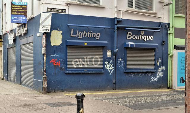 """Former """"Shemelds"""", Belfast"""