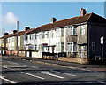 ST5878 : Southmead Road houses SW of Shetland Road, Bristol by Jaggery