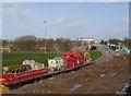SK5637 : South of Wilford Bridge - 1 by Alan Murray-Rust