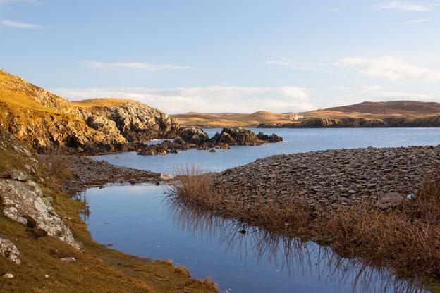 Quinni Geo, Shetland Islands