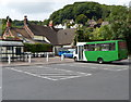 ST7598 : Cotswold Green bus parked in Dursley bus station by Jaggery