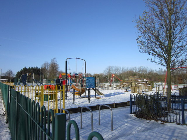 A playground off Wymersley Road, Hull
