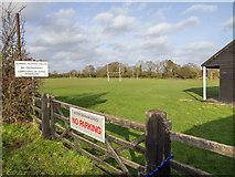 SP0858 : Playing fields, Alcester Grammar School by David P Howard