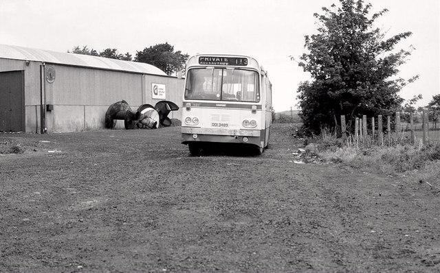 Bus, Glarryford near Ballymena
