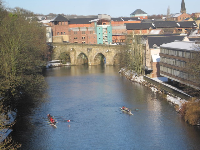 River Wear and Old Elvet Bridge, Durham